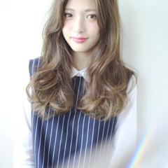 ロング ピュア 外国人風 ガーリー ヘアスタイルや髪型の写真・画像
