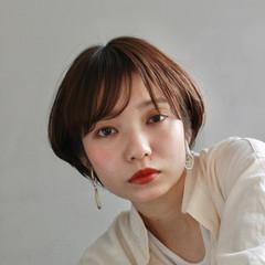 ナチュラル モテ髪 ショート ベリーショート ヘアスタイルや髪型の写真・画像