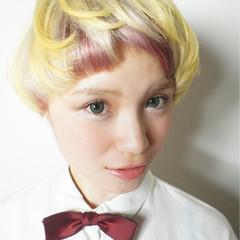 似合わせ ショート モード 小顔 ヘアスタイルや髪型の写真・画像