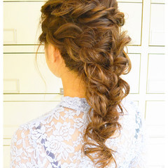 ゆるふわ ヘアアレンジ ロング ショート ヘアスタイルや髪型の写真・画像