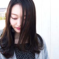 ヘアアレンジ アンニュイほつれヘア デート ロング ヘアスタイルや髪型の写真・画像