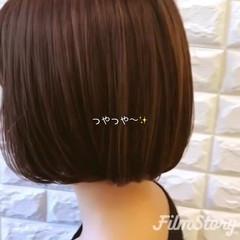 ボブ 女子力 モード オフィス ヘアスタイルや髪型の写真・画像