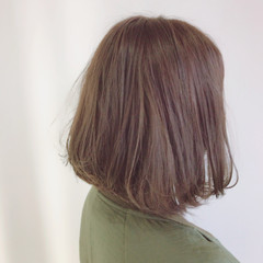 ナチュラル ボブ 艶髪 ヘアスタイルや髪型の写真・画像