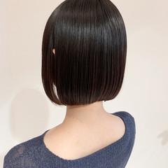 まとまるボブ ショートボブ ミニボブ ボブ ヘアスタイルや髪型の写真・画像