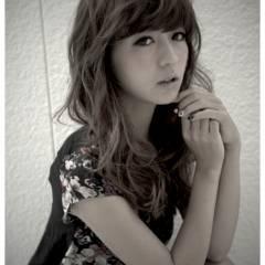 大人かわいい モテ髪 グラデーションカラー フェミニン ヘアスタイルや髪型の写真・画像
