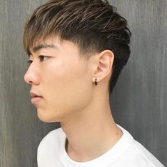 メンズカラー グラデーションカラー メンズカジュアル メンズヘア ヘアスタイルや髪型の写真・画像