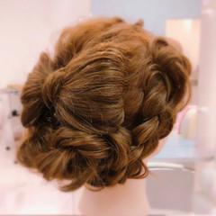 フェミニン 結婚式 謝恩会 ロング ヘアスタイルや髪型の写真・画像