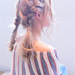 ミディアム 簡単ヘアアレンジ ヘアアレンジ 愛され ヘアスタイルや髪型の写真・画像