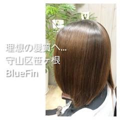 ミディアム 髪質改善 名古屋市守山区 髪の病院 ヘアスタイルや髪型の写真・画像