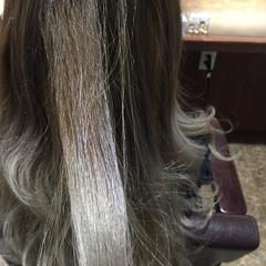 外国人風カラー ロング ナチュラル 透明感 ヘアスタイルや髪型の写真・画像