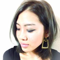 ボブ 外国人風 ストリート グラデーションカラー ヘアスタイルや髪型の写真・画像