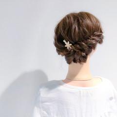 ヘアアレンジ デート 簡単ヘアアレンジ フェミニン ヘアスタイルや髪型の写真・画像