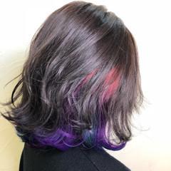 ヘアアレンジ 外国人風カラー ボブ グレージュ ヘアスタイルや髪型の写真・画像