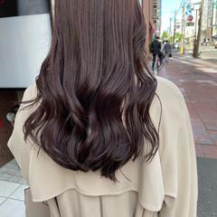 ロング 透明感カラー 韓国 韓国ヘア ヘアスタイルや髪型の写真・画像