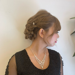 ガーリー グラデーションカラー 外国人風カラー ヘアアレンジ ヘアスタイルや髪型の写真・画像