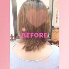 ロング 韓国ヘア エレガント ハイトーン ヘアスタイルや髪型の写真・画像