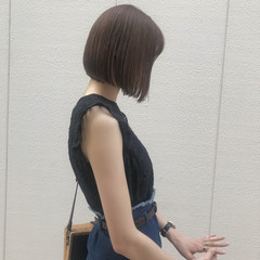 オフィス デート 色気 ショート ヘアスタイルや髪型の写真・画像