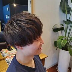 ナチュラル マッシュヘア マッシュ メンズカット ヘアスタイルや髪型の写真・画像