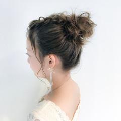 リラックス デート ヘアアレンジ ナチュラル ヘアスタイルや髪型の写真・画像
