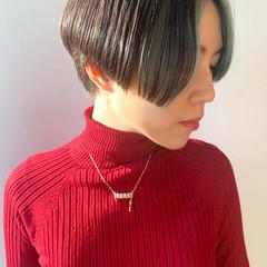 ウルフカット ショート ミニボブ ショートボブ ヘアスタイルや髪型の写真・画像