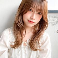 髪質改善トリートメント ミディアム ベージュカラー ゆるふわパーマ ヘアスタイルや髪型の写真・画像