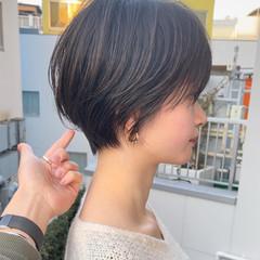 ハンサムショート ショートヘア ショートボブ ショートカット ヘアスタイルや髪型の写真・画像