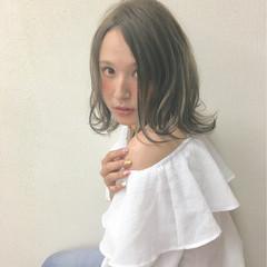 外国人風 ヘアアレンジ グラデーションカラー 渋谷系 ヘアスタイルや髪型の写真・画像