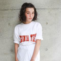 ヘアアレンジ リラックス アウトドア パーマ ヘアスタイルや髪型の写真・画像