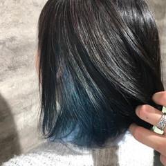フェミニン ボブ イルミナカラー ヘアスタイルや髪型の写真・画像