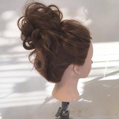 パーティ ロング 結婚式 ナチュラル ヘアスタイルや髪型の写真・画像