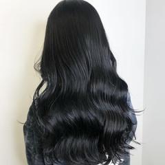 ロング 暗髪 ダークカラー 暗髪女子 ヘアスタイルや髪型の写真・画像