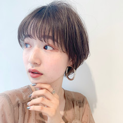 アンニュイほつれヘア ショート 簡単スタイリング 小顔ショート ヘアスタイルや髪型の写真・画像