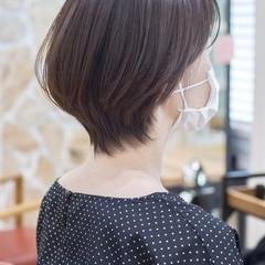 ショート ショートカット フェミニン ショートヘア ヘアスタイルや髪型の写真・画像