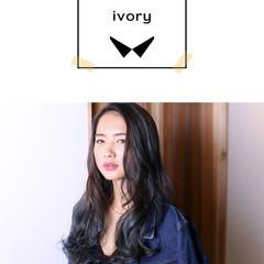 グラデーションカラー ストリート 黒髪 パーマ ヘアスタイルや髪型の写真・画像
