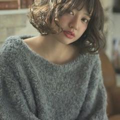 外国人風 ゆるふわ ミルクティー フェミニン ヘアスタイルや髪型の写真・画像
