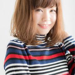 色気 ミディアム キュート ピュア ヘアスタイルや髪型の写真・画像