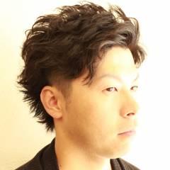 ストリート アップスタイル 外国人風 パーマ ヘアスタイルや髪型の写真・画像