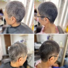 ベリーショート メンズスタイル ショートヘア アッシュグレージュ ヘアスタイルや髪型の写真・画像