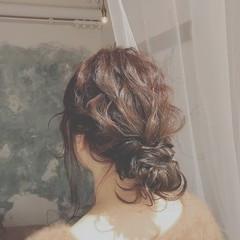 ゆるふわ 大人かわいい 冬 デート ヘアスタイルや髪型の写真・画像