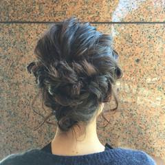 ヘアアレンジ ガーリー 色気 ショート ヘアスタイルや髪型の写真・画像