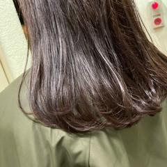 艶髪 うる艶カラー 艶カラー ナチュラル ヘアスタイルや髪型の写真・画像