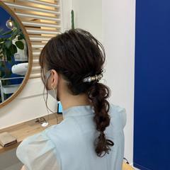 アンニュイほつれヘア ゆるふわセット 大人かわいい ナチュラル ヘアスタイルや髪型の写真・画像