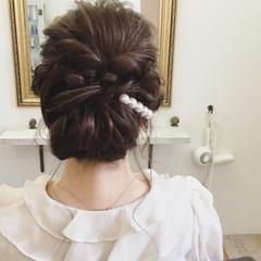 ロング 春 ラフ ヘアアレンジ ヘアスタイルや髪型の写真・画像