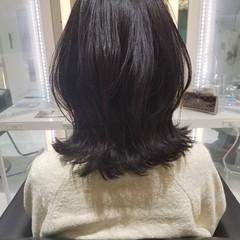 外ハネボブ 大人ミディアム ミディアム コンサバ ヘアスタイルや髪型の写真・画像