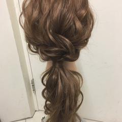 パーティ ナチュラル 結婚式 ゆるふわ ヘアスタイルや髪型の写真・画像