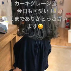 ミディアム デート オフィス 女子会 ヘアスタイルや髪型の写真・画像