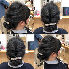ヘアアレンジ 結婚式 ガーリー 謝恩会 ヘアスタイルや髪型の写真・画像