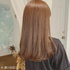 ストレート エレガント 艶髪 大人かわいい ヘアスタイルや髪型の写真・画像