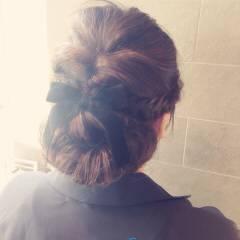 愛され モテ髪 コンサバ ヘアアレンジ ヘアスタイルや髪型の写真・画像
