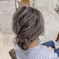グラデーションカラー 外国人風カラー モード ボブ ヘアスタイルや髪型の写真・画像